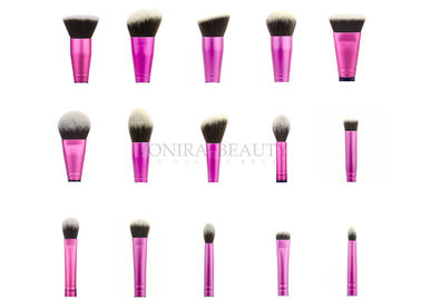 100% Vegan Cruelty Free Gorgeous Pink Fabulous Makeup Brushes Custom Private Label