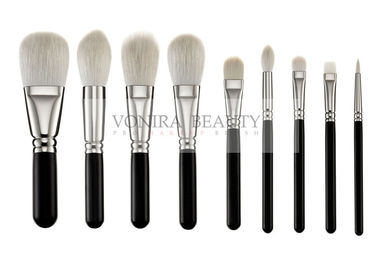 China Exclusive Luxury Softest Makeup Brushes  Private Label Silver Copper Ferrule supplier