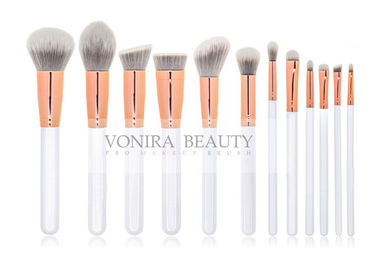 12PCS Vegan Synthetic Hair Private Label Makeup Brushes Wholesale Collection