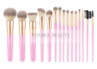 15 Piece Synthetic Makeup Brushes Set Luxury Exclusive Makeup Brush Holder