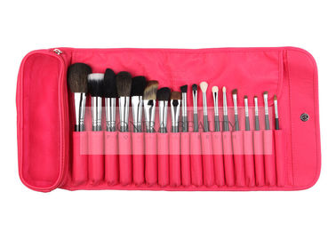 China Extremely Good Professional Makeup Brush Set 18 PCs With Red Pouch supplier