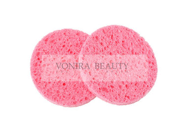 Natural Wood Cellulose Face Wash Deep Cleansing Sponge For Skin Care