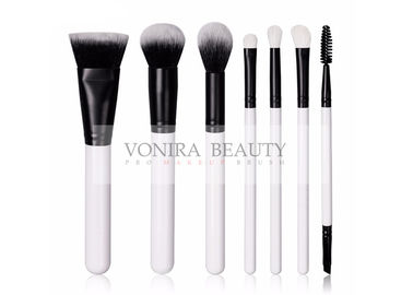 Professional Taklon Hair Face Makeup Brushes With White Goat Hair Eye Brushes Kit