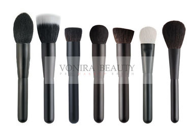 Gorgeous Sophisticatedly Handmade Natural Hair Makeup Brushes With Luxe Matte Black Handle