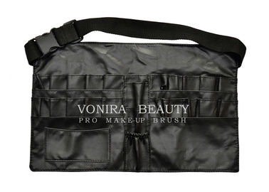 New style Faux Leather Makeup Brush Apron Tool Bag with Belt