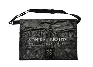China Pro Makeup Bag Apron 20 Pockets Cosmetic Brush Case Artist Belt Strap Holder Tool supplier