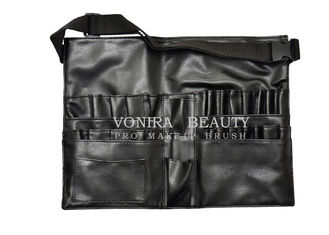 China Best Selling Faux Leather Makeup Brush Tool Apron/Belt With Strap Light Weight supplier