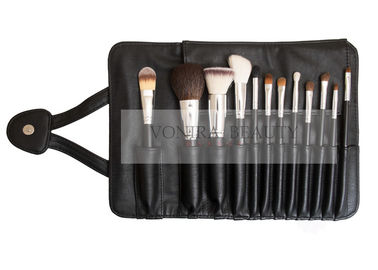 High Quality 12PCs Synthetic Hair Makeup Brushes With Magnetic Pouch