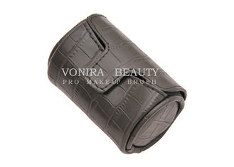 Lightweight Holder Wrap Makeup Brush Roll Up Case Pouch PU Leather