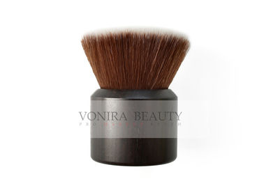 Trending Flat Mineral Buffer Individual Makeup Brushes Soft And Dense Synthetic Fiber