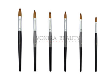 High Class Pure Kolinsky Acrylic Nail Art Brushes For Decoration