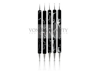 Marbleizing Nail Paint Brush Dotting Tool Set For Nail Art Manicure Kit