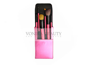 Travel Cosmetic Makeup Brush Gift Set Cruelty Free With Magnetic Folded Brush Case