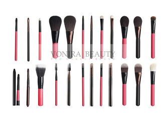 Customized Private Label Makeup Brushes 24pcs With Two Colors To Choose