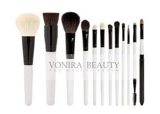 Professional Pearl Cosmetic Brush Kit With Nature Hair Bristles