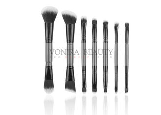 Duel End Makeup Brushes With Excellent Synthetic Fiber For Full Line Daily Use