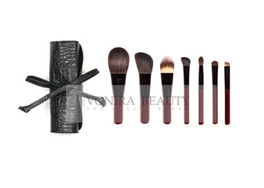 Superior Limited Edition Mini Travel Beauty Professional Brush Set With Faux Brush Roller