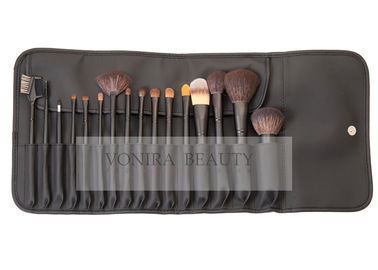 Amazing Cosmetic Brush Collection High End Makeup Brush Set With Goat & Synthetic Hair