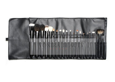21Pcs Professional Makeup Brush Set With A Free PU Leather Rolling Bag , Cosmetic Brush Collection