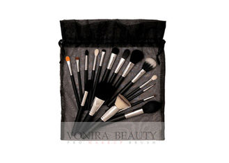 Professional Makeup Brush Collection With String Closure Makeup Bag