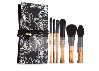 Luxury Limited Collection Natural Makeup Brushes With Elegant Original Bamboo Handle