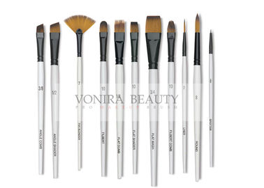 11pcs Art Body Paint Brushes Set for Oil Painting / Craft , Nail , Face Paint