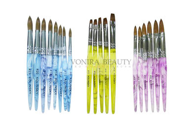 China Super Collection Of  Kolinsky Sable Acrylic Nail Brush For Carving And Painting supplier