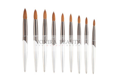Nature Kolinsky kolinsky sable brushes 3D Nail Art Round Tapered Painting Brush Kit