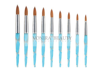 3D Effect Painting Acrylic Nail Art Brush Kit With Finest Pure Kolinsky Hair