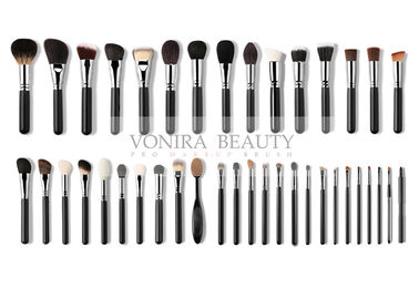 Custom Label Complete Professional Makeup Brush Collection For Makeup Artist