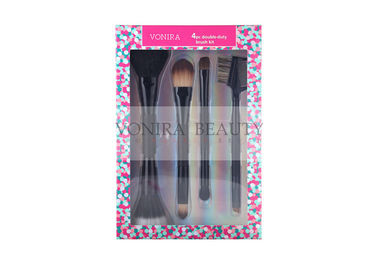 Chirstmas Holiday Gift Package With Double Ended Brushes And Beautiful Packing Box
