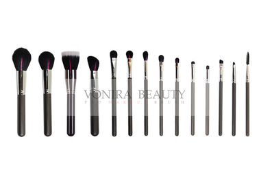 Customized 14pcs Makeup Brushes Kit With Natural Hair For Beginner