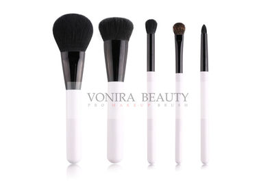 5Pcs Classic White Squirrel Hair Natural Hair Makeup Brushes Kit Customized