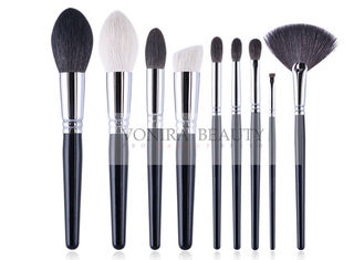 China Complete Handmade Natural Hair Makeup Brush Set Durable Copper Ferrule supplier