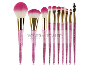 Shinning Magenta Beginner Fantasy Mass Level Makeup Brushes Tools