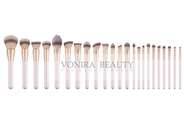 China Chic Synthetic Hair Makeup Brush Set Pearl  White Handle SOCIAL Certification supplier