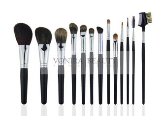 China Luxury Fluffy Natural Hair Makeup Brushes Basic Beauty Brush Kit supplier
