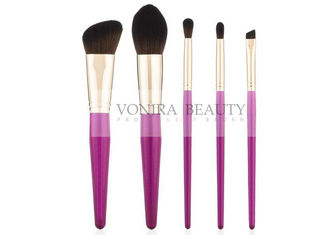 5PCS Simple High-end Mass Level Makeup Brushes Suitable For Beginners