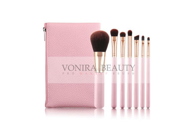 China Pink Exclusive Collection Makeup Brush Gift Set Beauty Products , Makeup Tools Set supplier