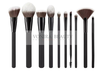 Dense Supple Synthetic Makeup Brushes , Cosmetic Brush Set Professional Applicator