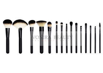 China Luxury Shiny Black Middle Quality Makeup Brushes Beauty Kits supplier