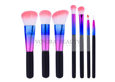 China Distinctive Color Ferrule Eyeshadow Brush Kit Exclusive Utensil For Starters supplier