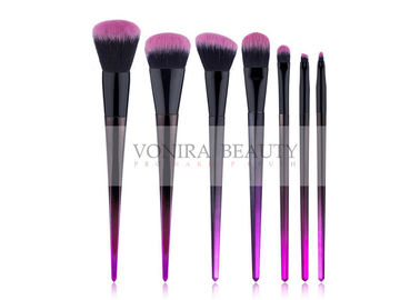 Basic Must Have 7 Pieces Synthetic Makeup Brushes , Hair Cosmetic Brushes