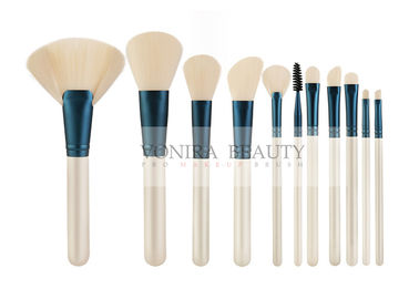 OEM Cosmetic Tools Comfortable Handle Synthetic Hair 11 pcs Makeup Brush Set With High Quality Soft Hairs