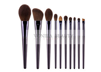 Luxury Soft Vegan & Cruelty Free Synthetic Hair The Makeup Starter Basic 10 pcs Makeup Brush Cosmetic Brush Kit