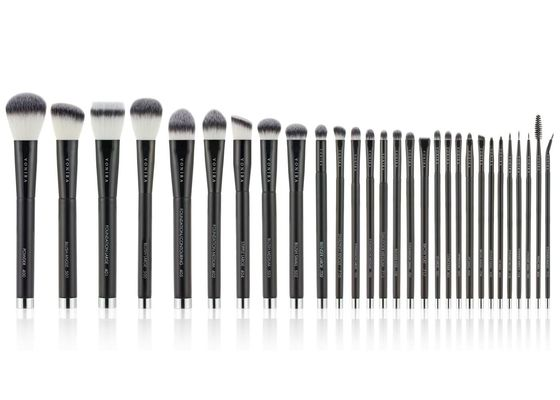 29 Piece Magnetic Stand Synthetic Fiber Makeup Brushes