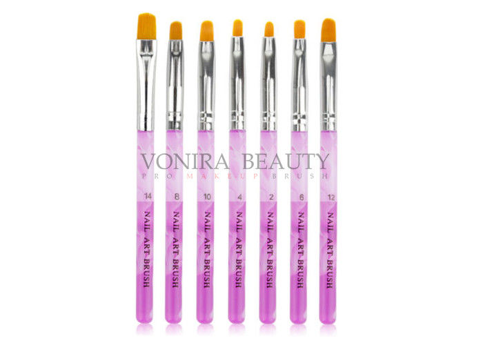 Customized Logo Private Label Nail Art Brushes Acrylic UV Gel Nail ...