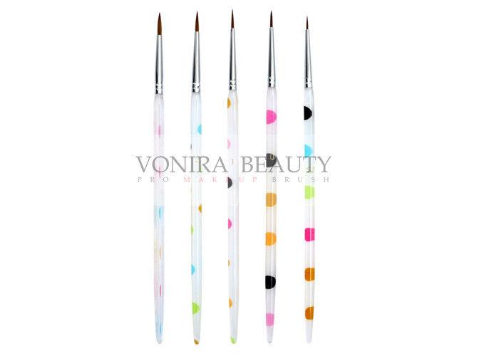 Acrylic Nail Brush Kolinsky Sable Brushes Flower Paintbrush Pro ...