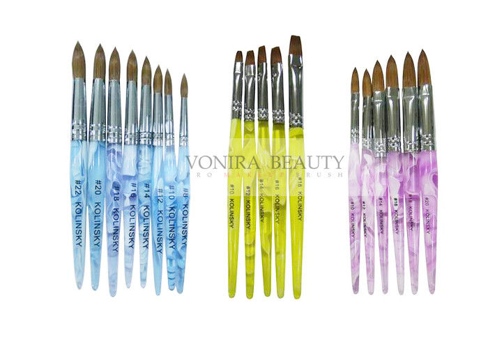 Super Collection Of Kolinsky Sable Acrylic Nail Brush For Carving ...