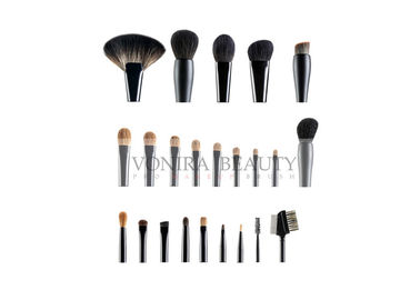 China Private Label Deluxe Natural Hair Makeup Brushes Custom Top Rated Makeup Brushes factory